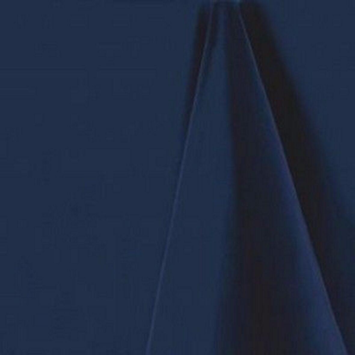 Navy Blau Rectangular Tablecloth - 132 x 230 cm (52  x 91 ) Linen Blend
