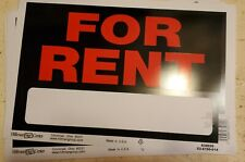 Lot Of 10 For Rent Sign Plastic Apartment House Housing 9x12