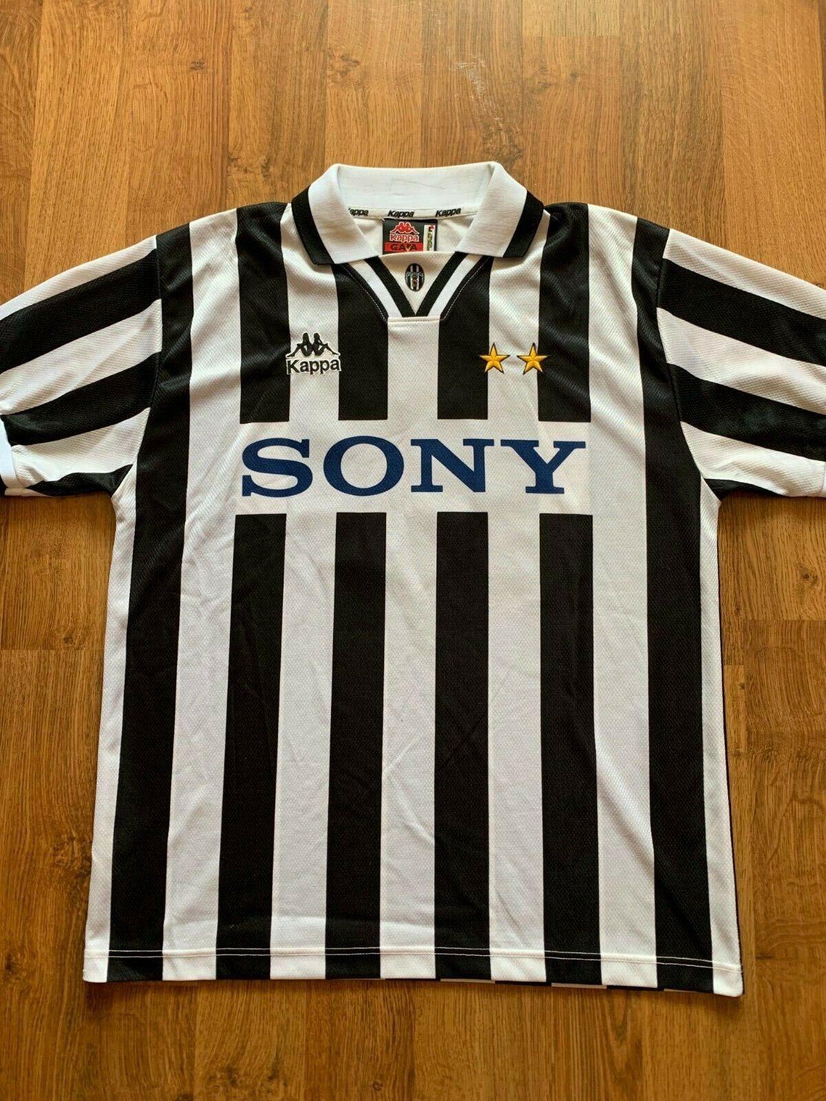 JUVENTUS  10 Del Piero 9697 Home Football Shirt L Soccer Jersey Kappa