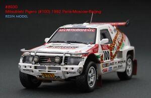 RARE-HPI-8930-Mitsubishi-Pajero-1992-Paris-Beijing-Moscow-Dakar-1-43-RESIN