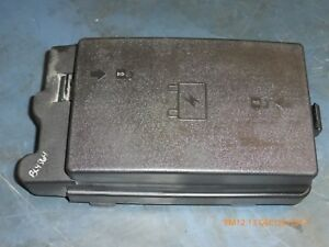 Details about 2003 Chevy Trailblazer Engine Fuse Box& Cover 15196420 on