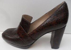 Tamaño Soho Zapatos D marrón Clarks cuero 7 alto Reino Unido Eur tacón 41 para de mujer de Gabriel qwxZH8Pqr