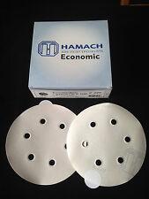 HAMACH Schleifscheiben -100 Stk.-Economic Stickup (klebend) ∅ 150mm P320, 6 Loch