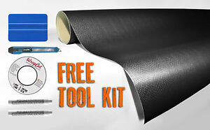 VVIVID8 Navy Blue carbon fiber vinyl car wrap  30ft x 5ft free car wrap kit