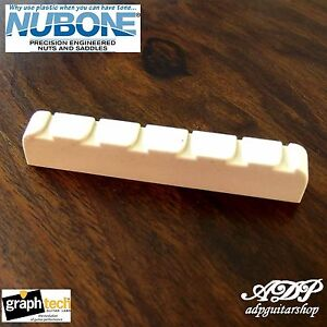 Slotted Graph Tech Tusq Top Nut for Jumbo Gibson Guitar PQ-6010-00