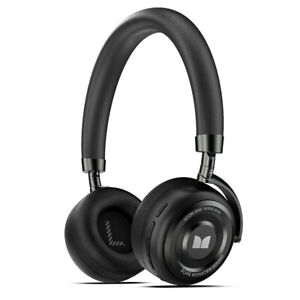 Monster Icon Active Noise Cancelling/ANC Wireless/Bluetooth Headphones w/Mic BLK