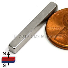 50 Pieces N45 Neodymium Bar Magnets 1x18x18 Rare Earth Super Strong Magnets