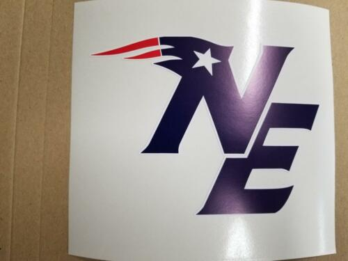 New England Patriots cornhole board or vehicle decal(s)