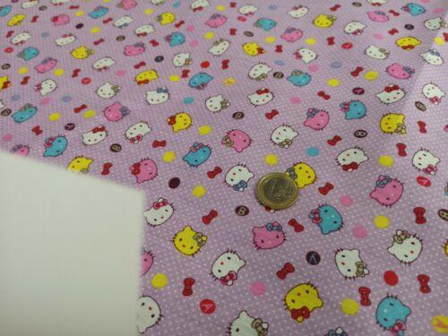 1 M Enfants Tissu coton Hello Kitty Au Mètre Tissu Bébé Vêtements DECO