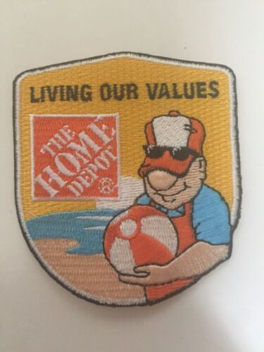 Seasonal Homer The Home Depot Apron Badge patch, pin, swag Beach Ball