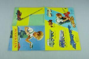 100% Vrai 8000er Série Märklin 1/50 Catalogue Français 1962 Rare Original 511802