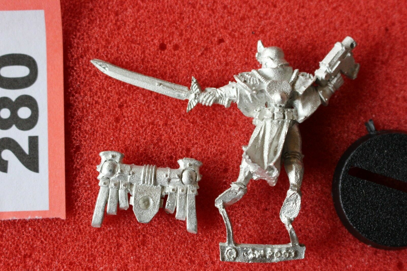 Games Workshop Workshop Workshop Warhammer 40k Sisters of Battle Seraphim Superior Power Sword New ac188f