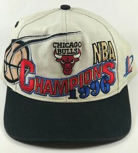 3b6e732640c75f Image is loading Vintage-Chicago-Bulls-1996-NBA-Finals-Champions-Snapback-
