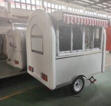 Food Trailer Truckcartconcession Full Kitchenwhite Wwwgetfoodtrailerscom