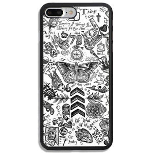 One Direction Tattoos Sketch Hard Cover Phone Case For Iphone And Samsung Ebay