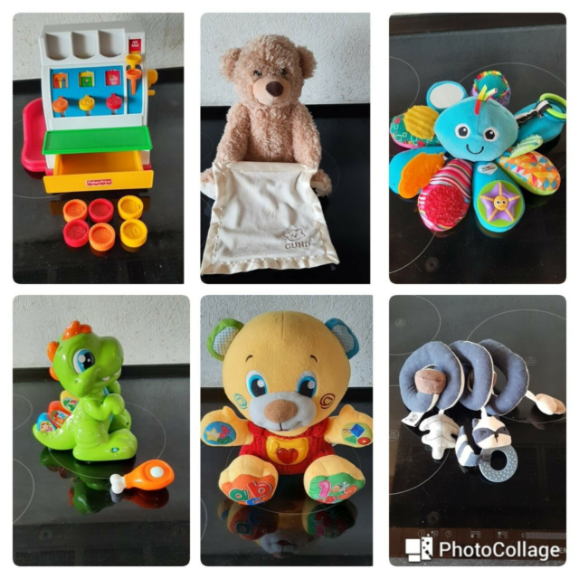 Fisher price, lamaze, zebra mm., aktivitetslegetøj, Kasse…