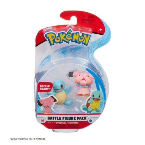 Pokemon 2 pouces Battle Figure Pack-Snubbull /& Squirtle Brand New *