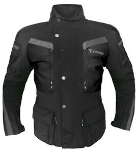 DAINESE-GTX-Carve-Master-Textiljacke-schwarz-grau-Motorradjacke-Gore-Tex