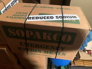Sopakco Mres Discreet Shipping Ration 1 Case 14 Meals Low Sodium See Pictures 799942302005 Ebay