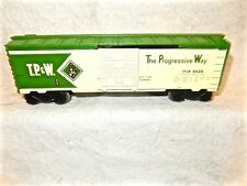 Lionel #9428 T.P & W two tone green single door O gauge boxcar from set breakup!