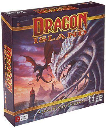 Dragon Island Board Game R&R Games BRAND NEW ABUGames