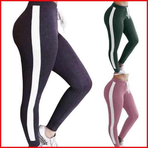 Damen Sport Stretch Leggings Fitness Jogginghose Yoga Leggins Freitzeithose #xkj