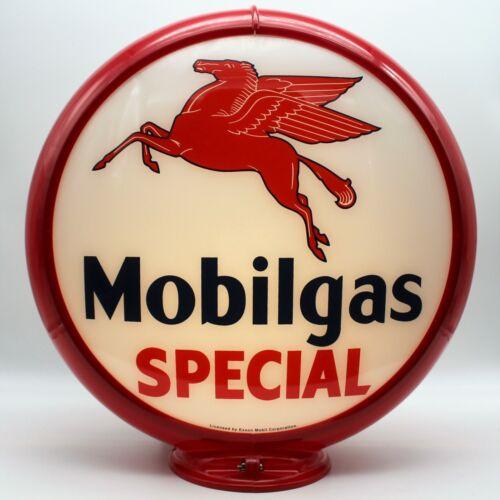Mobilgas SPECIAL Gas Pump Globe