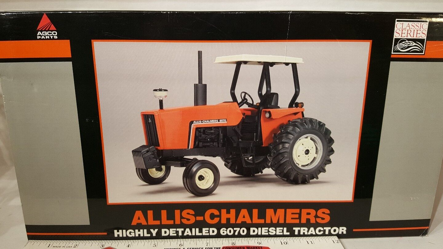 Allis Chalmers 6070 1 16 diecast farm tractor replica collectable by Spec Cast