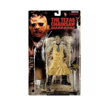 NIB McFarlane Toys Lederface The Texas Chainsaw Massacre Movie Maniacs