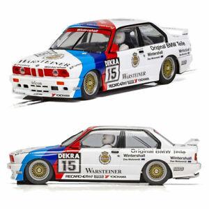 Scalextric-Slot-Car-C4040-BMW-E30-M3-DTM-1989-campeon