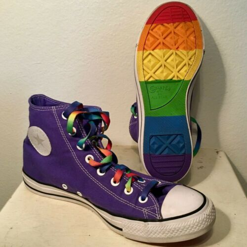 Original Converse Shoes - RARE Rainbow Pride Month