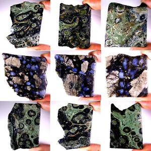 KAMBABA-JASPER-AND-MATRIX-ON-TANZANITE-SLABS-ROCK-POLISHED-ROUGH-SPECIMEN-PS30