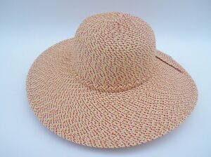 Image is loading Women-039-s-Over-Sized-Brim-Woven-Sun- 40bc3d22c2a