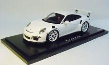 1:18 SPARK 2016 PORSCHE 911 (991) GT3 RS white showcase DEALER PROMO In Stock !!