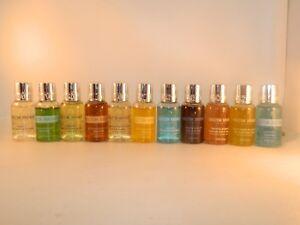 Molton-Brown-Perfume-Body-Wash-Cleansing-Gel-Soap-1oz-Travel-Set-Lot-x-6