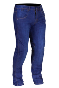 MERLIN-WYATT-WATER-REPELLENT-BLUE-MOTORCYCLE-SHORT-LEG-JEANS-WAIST-SIZE-34