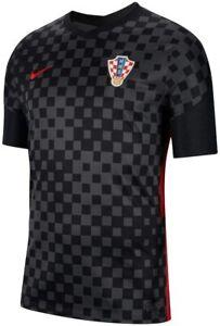 Team Croatia National Euros European Soccer 2020/21 Away Replica Jersey Checker