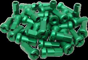 Green Moose MX1 Billet Spoke Nipples 9 Gauge