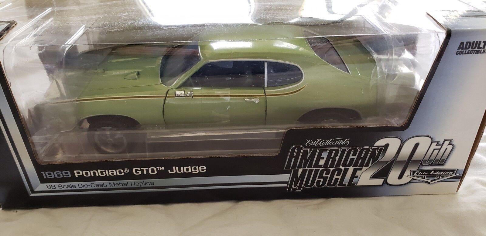 1969 pontiac gto richter grüne amerikanische muskeln 20. jahrestag von autoworld 1   18.