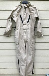 and Flame Resistant Water JP-8 Fuel Handler/'s Gore-Tex Coveralls Wind New G.I