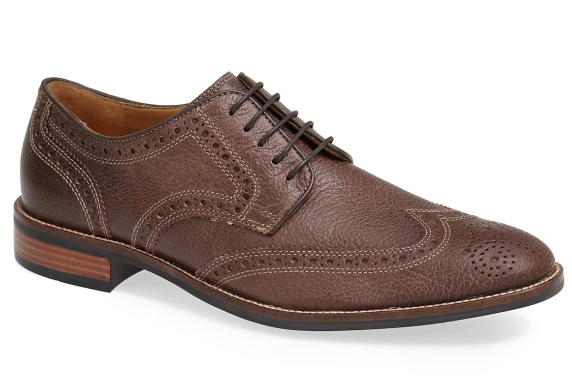 Cole Haan Lenox Hill Men's Brown Leather Wingtip Oxford Sz 11.5 1365