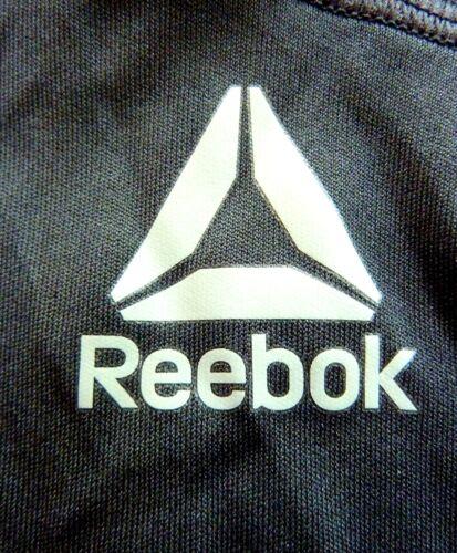 Reebok Men/'s Active Athletic Workout Ready Tech Short Sleeve T-Shirt Black-M NWT