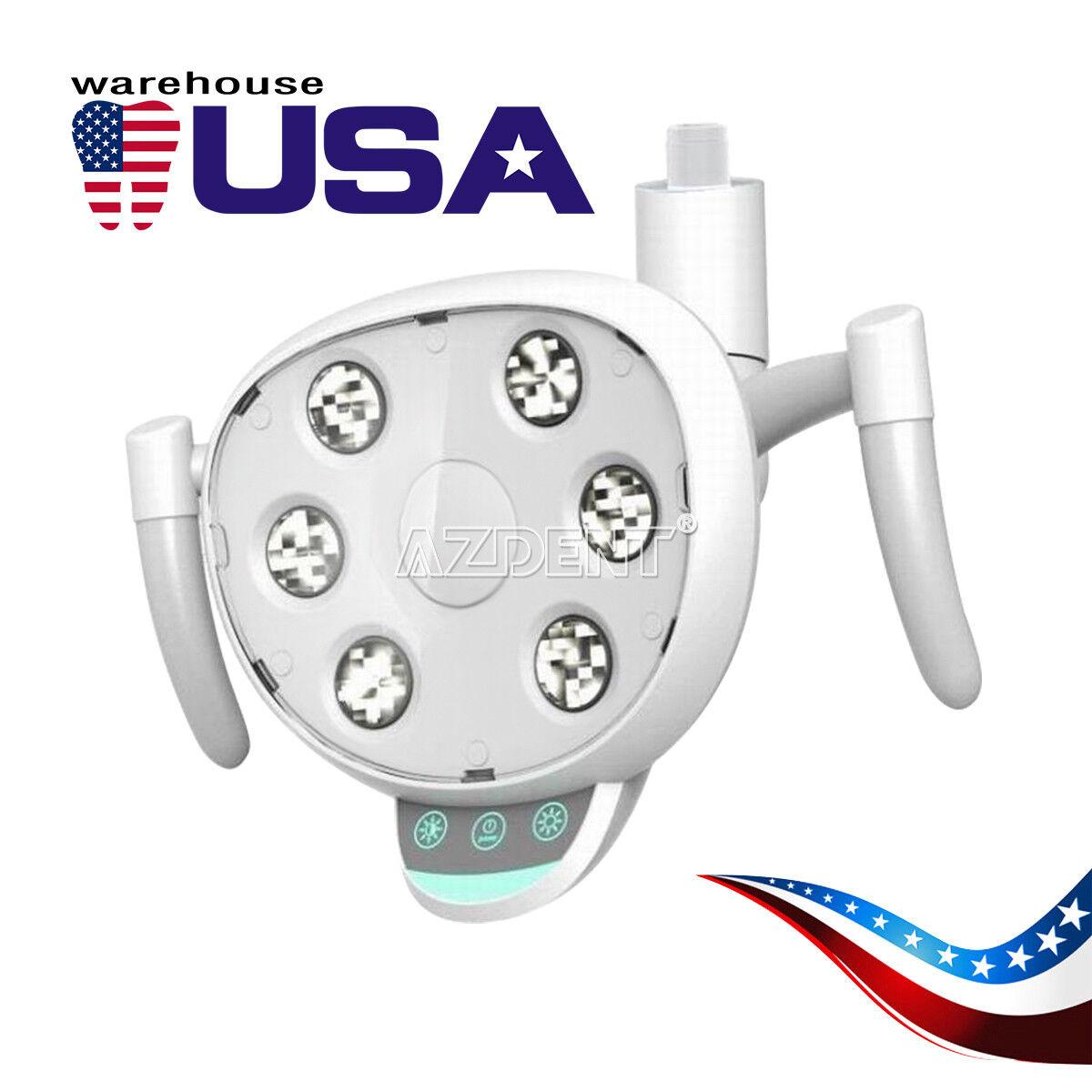 Inducción Dental de EE. UU. Lámpara Luz LED oral de ahorro de energía de seis de alta potencia de 5000-5300k