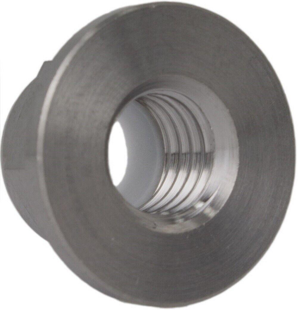 rostfrei ISO 4161 Eisenwaren2000 50 St/ück M6 Selbstsichernde Muttern mit Flansch Edelstahl A2 V2A - Flanschmuttern mit Sperrverzahnung DIN 6923
