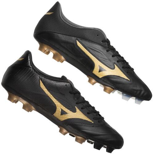 Mizuno Rebula 2 V1 V2 FG Herren Fußballschuhe Rasen Nocken Schuhe schwarz neu