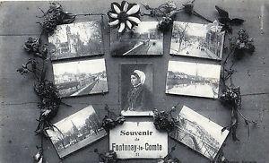 85-Fontenay-le-Comte-CPA-Souvenir-Vues-Diverses