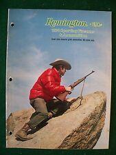 Original 1974 Remington Arms Sporting Arms Catalog, mod.1100,3200,870, etc