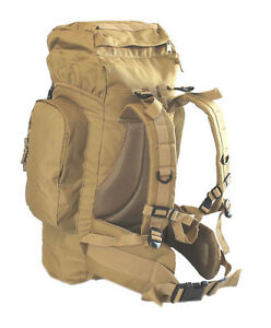Coyote Tan Large 45L Rio Grande Hiking Tactical Military Style ...