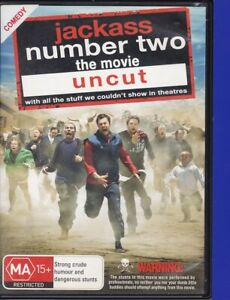 Jackass-Number-Two-The-Movie-2d-DVD-2007-R4-Tested-Ex-Rental