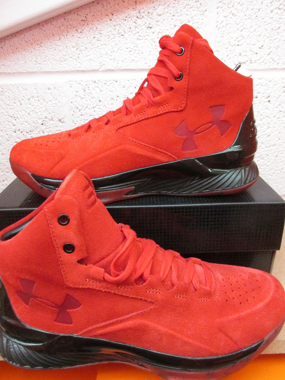 Under Armour UA Curry 1 Lux Mid SDE Hi Top Basketball Trainers 1296617 600